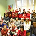 Kingsley Healthcare in Christmas Jumpers